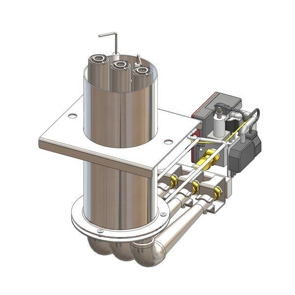Elektroninio valdymo dujų degiklis